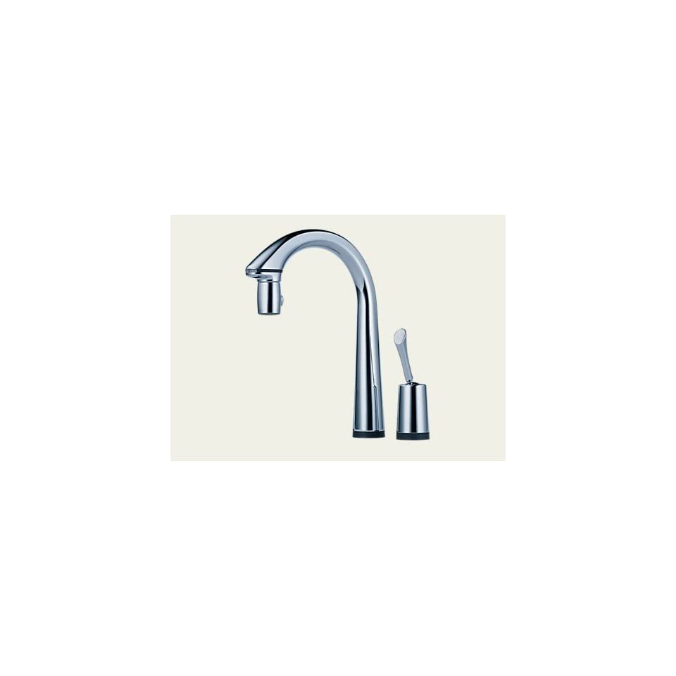 Brizo Faucets 64900 PC Single Handle Pull Down Kitchen Faucet With Hands Free And Smarttouch Technology Chrome