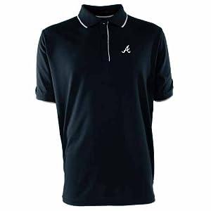 Atlanta Braves Elite Polo Shirt (Team Color) by Antigua