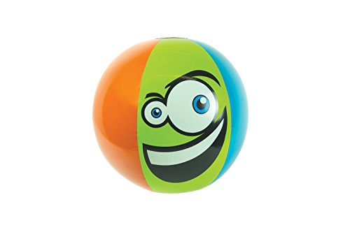 "Poolmaster 24"" Monster Play Ball with Multiple Faces"