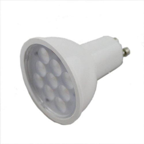 3W Gu10 Smd5050 9Leds Spot Light With High Power Pure White Ac110V