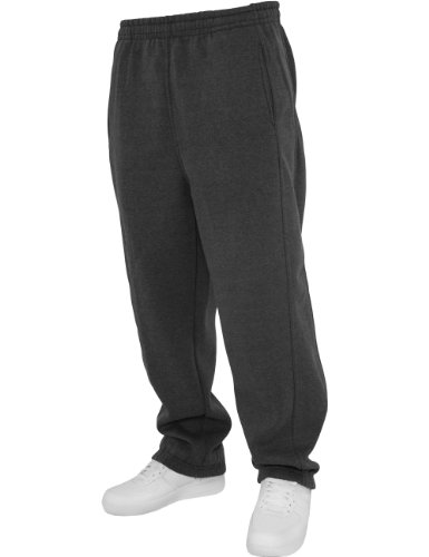 Urban Classics - Sweatpants, Pantaloni sportivi Uomo, Grigio (Charcoal), Small (Taglia Produttore: Small)