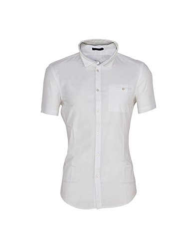 Calvin Klein Men's Solid Casual Shirt  available at amazon for Rs.2589