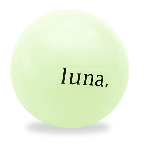 Planet Dog Orbee Tuff Cosmos Dog Toy, Luna, Glow