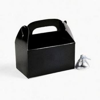MINI BLACK TREAT BOXES (2 DOZEN) - BULK