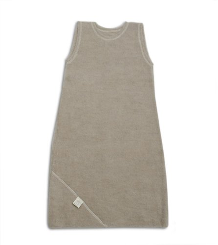 Organic Wool Soft Sleeper in Soft Sand, size 74 (6-9 mo)