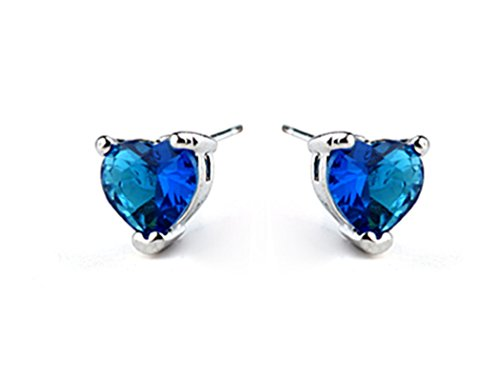 Titanic Heart of the Ocean Blue Cubic Zirconia