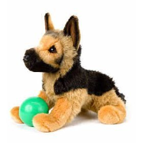 Stuffed German Shepherd