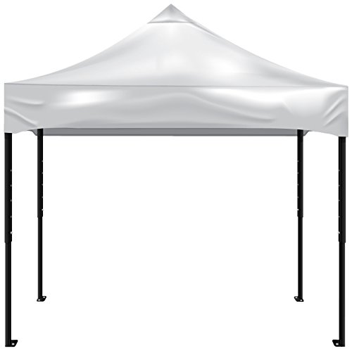 Kd Kanopy Psk100W Party Shade Steel Frame Indoor/Outdoor Portable Canopy, 5 By 5-Feet, White