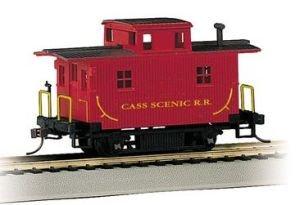 Imagen de Bachmann Trains Cass Scenic RR Bobber Caboose-Ho Escala