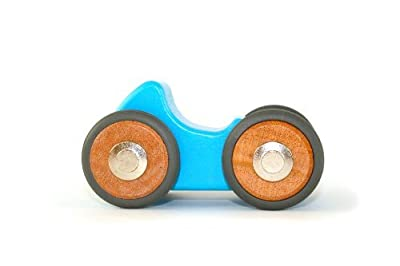 5 Piece Tegu Riley Magnetic Wooden Block Car by Tegu