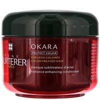 Rene Furterer Okara Radiance Enhancing Conditioning Mask For Color-Treated Hair 200ml