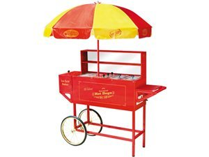 Nathan's Hot Dog Cart