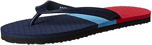 Gliders (from Liberty) Men's Franklin Blue Hawaii Thong Sandals - 7 UK/India (41 EU)  available at amazon for Rs.199