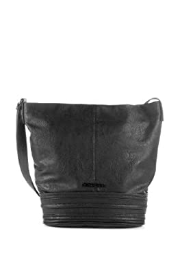 ESPRIT Womens Mittelgroß Shoulder Bag Black Schwarz (BLACK 001) Size: 26x32x14 cm (B x H x T)
