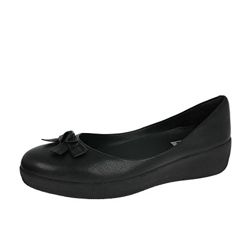 Fitflop Pretty Bow Superballerina Donna Scarpe Nero