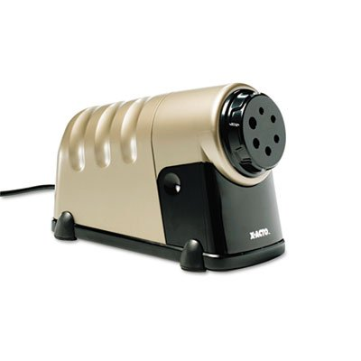 Elmerft.S Products Inc Epi1606 Electric Pencil Sharpener- Adjust Guide- 2In.X11In.X7In.- Beige-Dk Gy