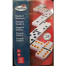 Pavilion Games: Double 6 Dominoes