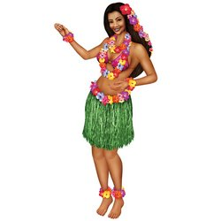 Jointed Hula Girl Party Accessory (1 count) (1/Pkg)