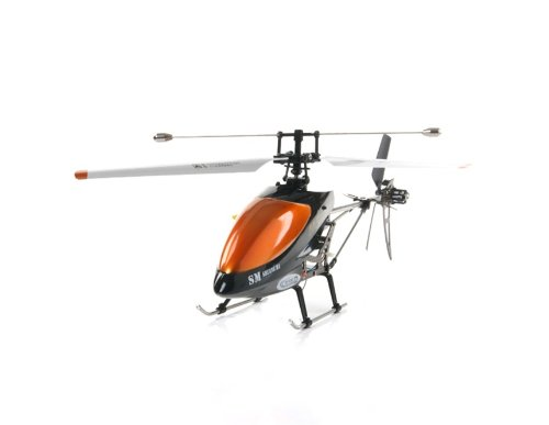 Double Horse 9100 3 Channel Metal Frame R/C Helicopter with Gyro (Orange)