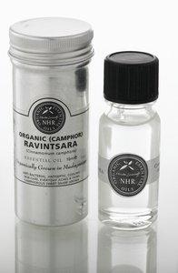 Organic Ravintsara Essential Oil (Cinnamomum camphor var. cineol) (10ml) by NHR Organic Oils