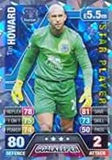 Match Attax 2013/2014 Tim Howard Everton Star Player 13/14