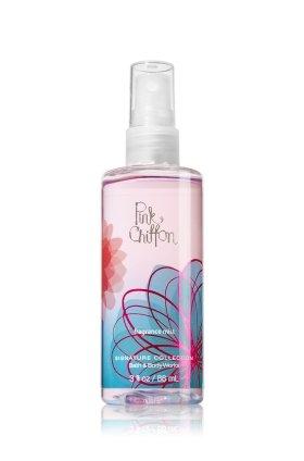 バス&ボディワークス ピンク シフォン ファイン フレグランスミスト トラベルサイズ Pink Chiffon Fine Fragrance Mist TravelーSize