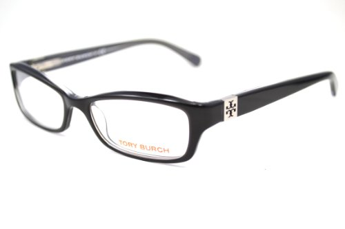 Tory Burch Tory Burch TY2010 1034 Eyeglasses Black/Charcoal Demo Lens 49-16-135