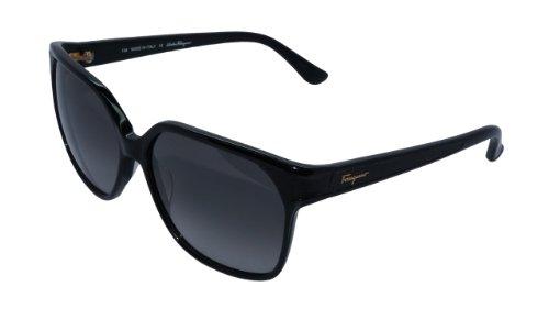 Salvatore Ferragamo Sf622Sl Black 001 Sunglasses Woomens Sunglasses