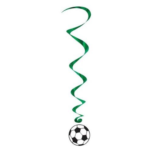 Soccer Ball Whirls   (5/Pkg)