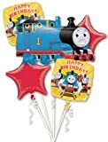 THOMAS THE TANK BIRTHDAY PARTY BALLOONS BOUQUET