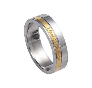 I feel U feel me - Wedding Promise Ring