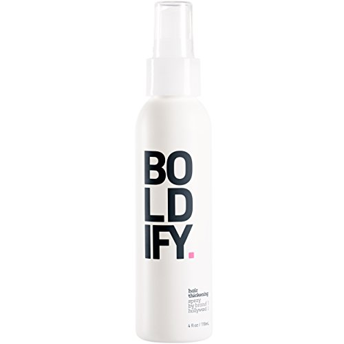 BOLDIFY Thickening Spray - Get Thicker Hair in 60 Seconds - Stylist Recommended - Instant Volumizing, Texture and Thickness for All Hair Types - The Premium Hair Thickener for Women and Men - 4 Ounce (Extra Virgin Aloe Vera Gel compare prices)