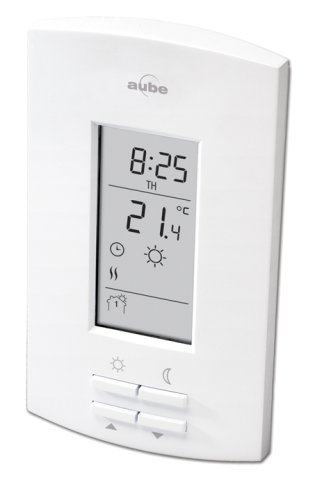 Honeywell Aube by Honeywell TH110-SP-P/U Electric Heating 7-Day Programmable Thermostat at Sears.com