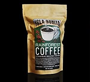 Isla Bonita Puerto Rico Rainforest Coffee Whole Bean