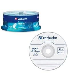Verbatim - 97344 - BD-R LTH Type 25GB 6X 20 pk sp