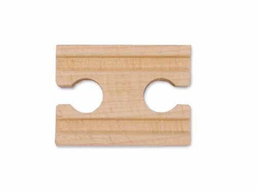 "2"" Wooden Straight Track Female (Six Pack) by Melissa and Doug - 1"