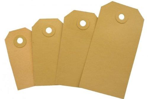 Manilaetiketten individuellement 230 g/m² (2.000 étiquettes en carton) no 1-25...