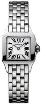 Cartier Santos Demoiselle W25064Z5 orologio, in acciaio, da donna