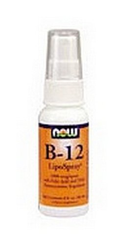 Now Foods B-12, 2 Ounce Lipospray