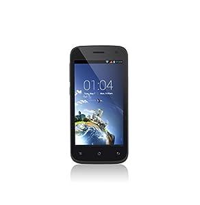 Kazam Thunder2 4.5L Smartphone débloqué 4G (8 Go - Android 4.3 Jelly Bean) Noir