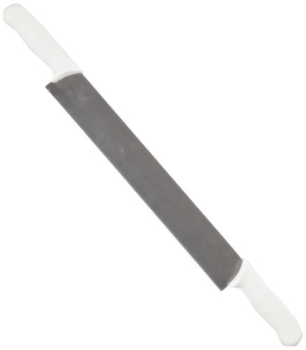 "Sani-Safe S118-14DH 14"" Double Polypropylene HandleCheese Knife with Polypropylene Handle"