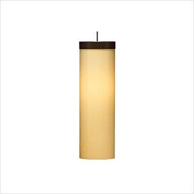 Mini Hudson One Light Pendant Finish: Satin Nickel, Shade: Brown, Bulb: Halogen