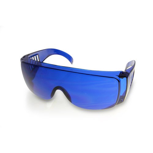 Golf Ball Finder Glasses Highlight White, Blue Lenses Sunglasses