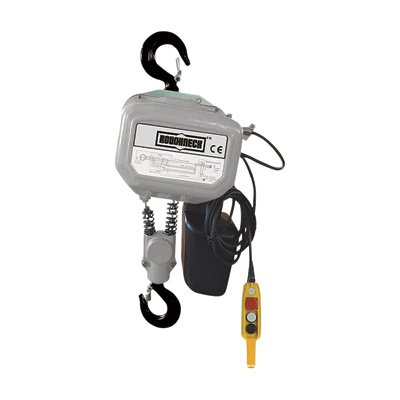 Roughneck Round Chain Electric Hoist - 3-Ton Capacity