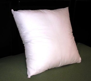 18x18 Synthetic Down Pillow Form Insert