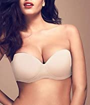 fine lines Blessed 4 Way Convertible Strapless Full Cup Bra (FI015) 40D/Black