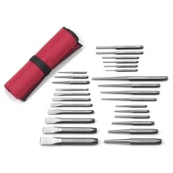27 PIece Punch and Chisel Set