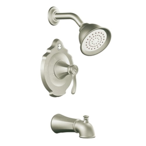 Moen T2503EPBN Vestige Posi-Temp Tub and Shower Trim Kit without Valve, Brushed Nickel (Moen Vestige Faucet compare prices)