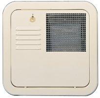 Suburban 6255APW Polar White SW6 Flush Mount Water Heater Door