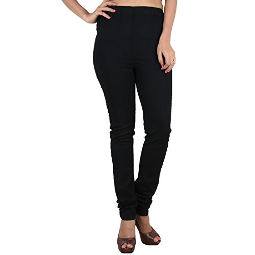 Danbro-Womens-Denim-Jeggings-Black